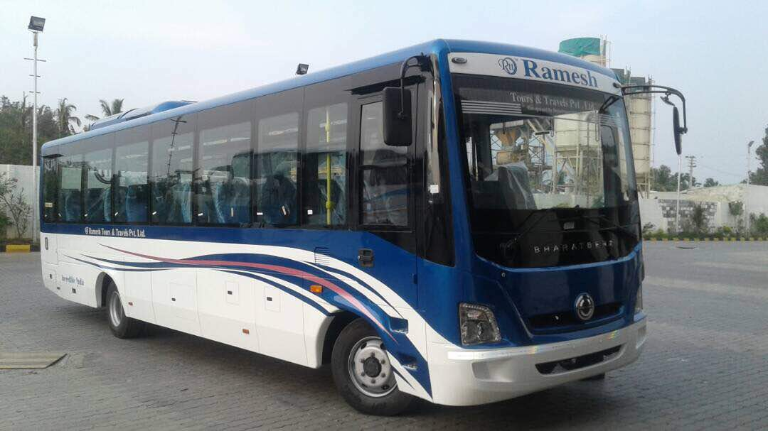 Booking S R Travels Buses